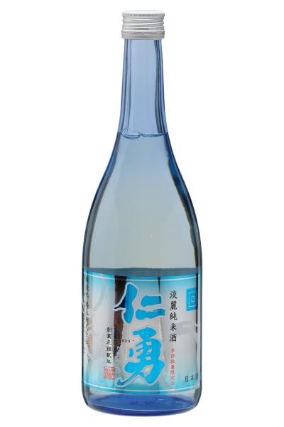 仁勇 淡麗純米酒 720ml